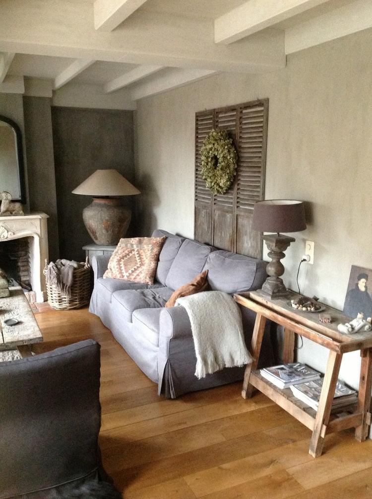 woonkamer landelijke stijl. Foto geplaatst door sonjac op Welke.nl