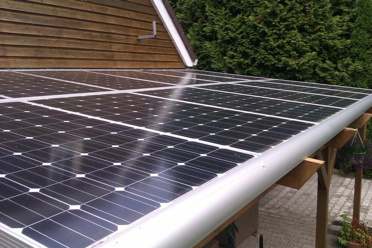 Voorkeur Dak van veranda met zonnepanelen.. Foto geplaatst door marpan op @UN68