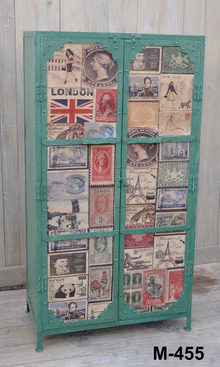 Retro Vintage Kast Groen Van Giga Meubel Foto Geplaatst