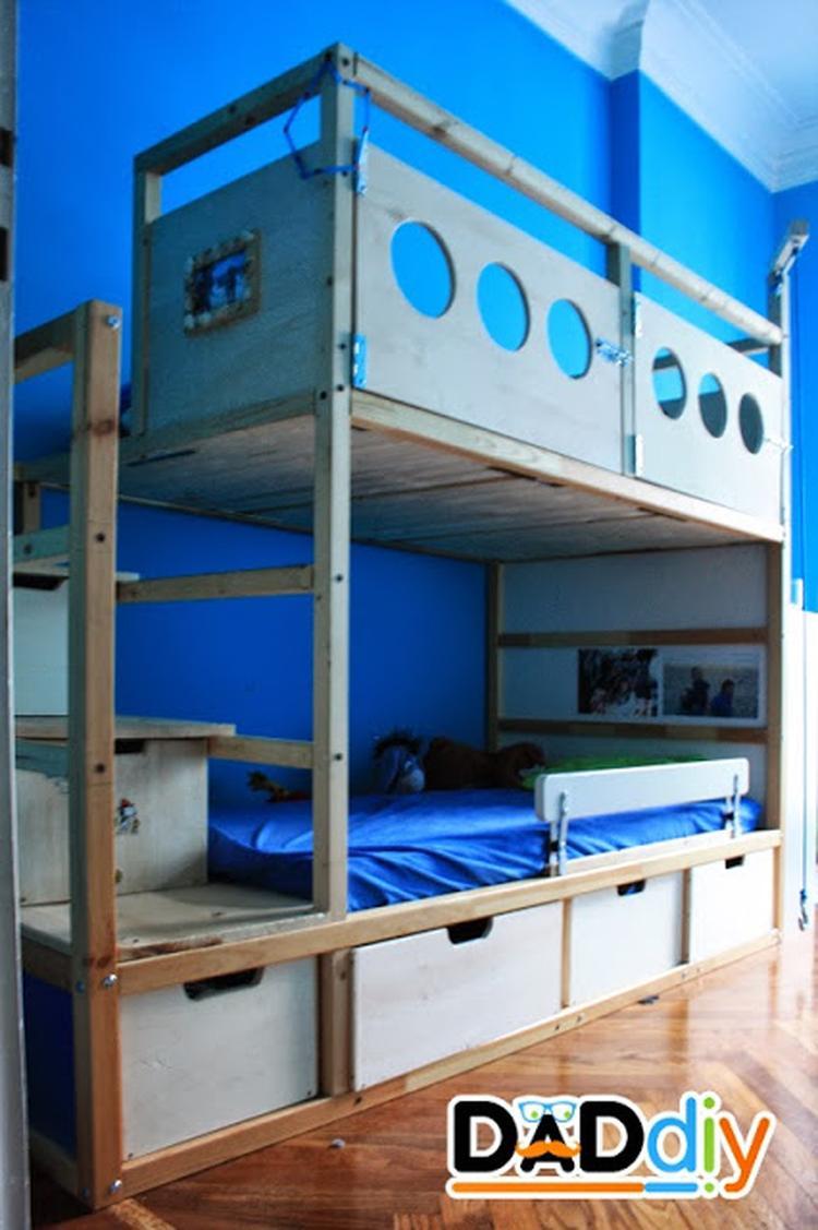 Ikea Bed Kinder.Ikea Hack Kinder Bed Foto Geplaatst Door Pwvandeursen Op