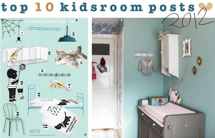Kinderkamer leuke kleuren! kinderkamerstylist. foto geplaatst door