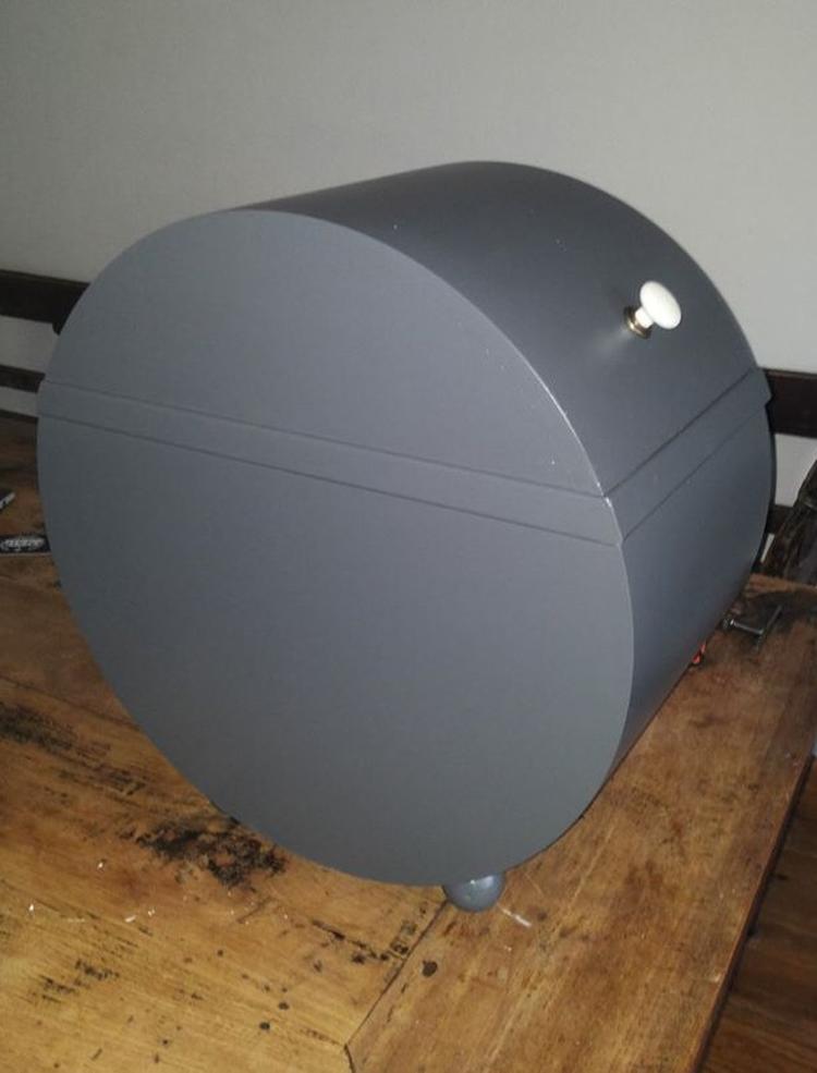 Hedendaags gemaakt van een pvc buis met een diameter van 500mm en 300mm breed RC-18