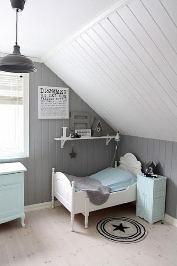 Slaapkamer 3. Rustige kleuren voor een jongens slaapkamer . Foto ...