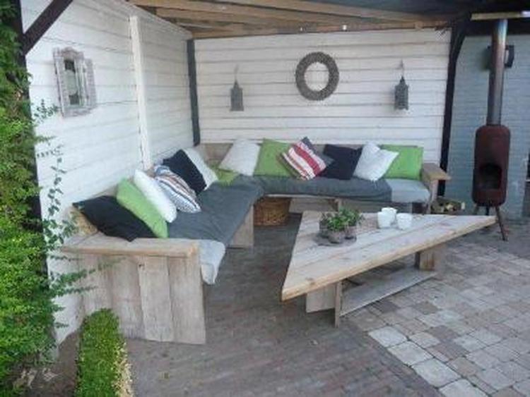 Leuk Driehoekig Balkon : Leuke loungeset met driehoekige tafel foto geplaatst door