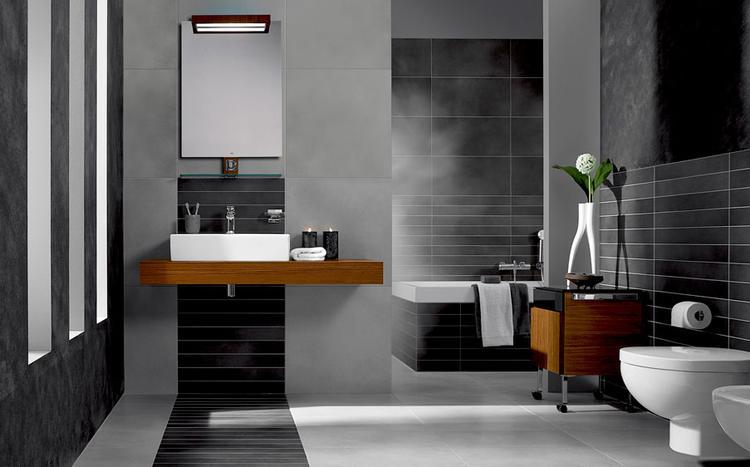 mooie badkamer en tegel combinatie. Foto geplaatst door ...