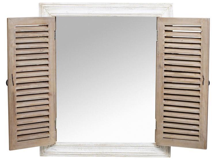 Super Spiegel met louvre deurtjes. (XENOS). Foto geplaatst door Rezu op UC-12