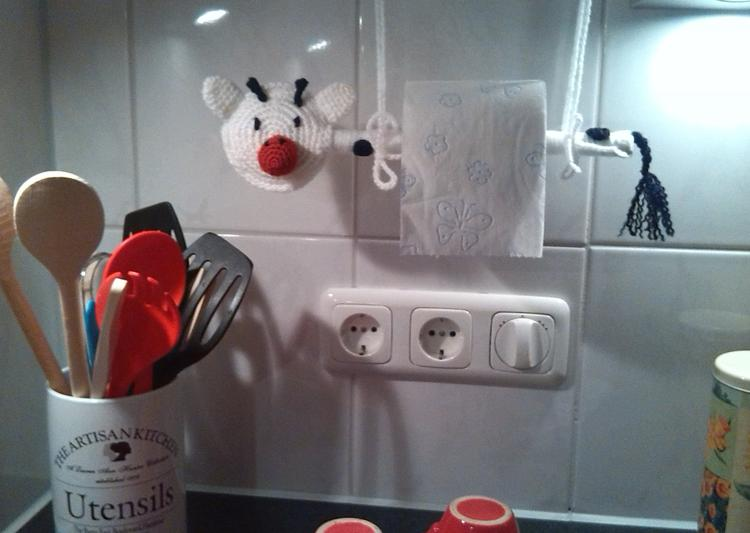Keuken Voor Weinig : Weinig plaats in je keuken voor een grote keukenrol hang een
