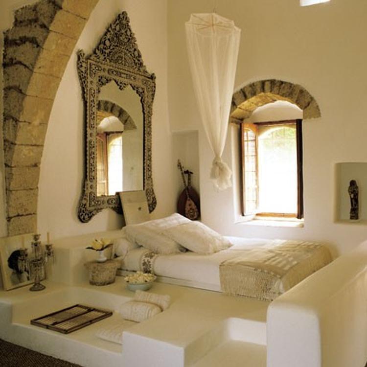 Oriëntaalse Arabische Marokkaanse slaapkamer. Prachtig!!!!. Foto ...