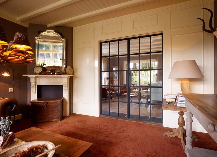 Eetkamer In Woonkamer : Stalen deuren woonkamer eetkamer foto geplaatst door rasenberg