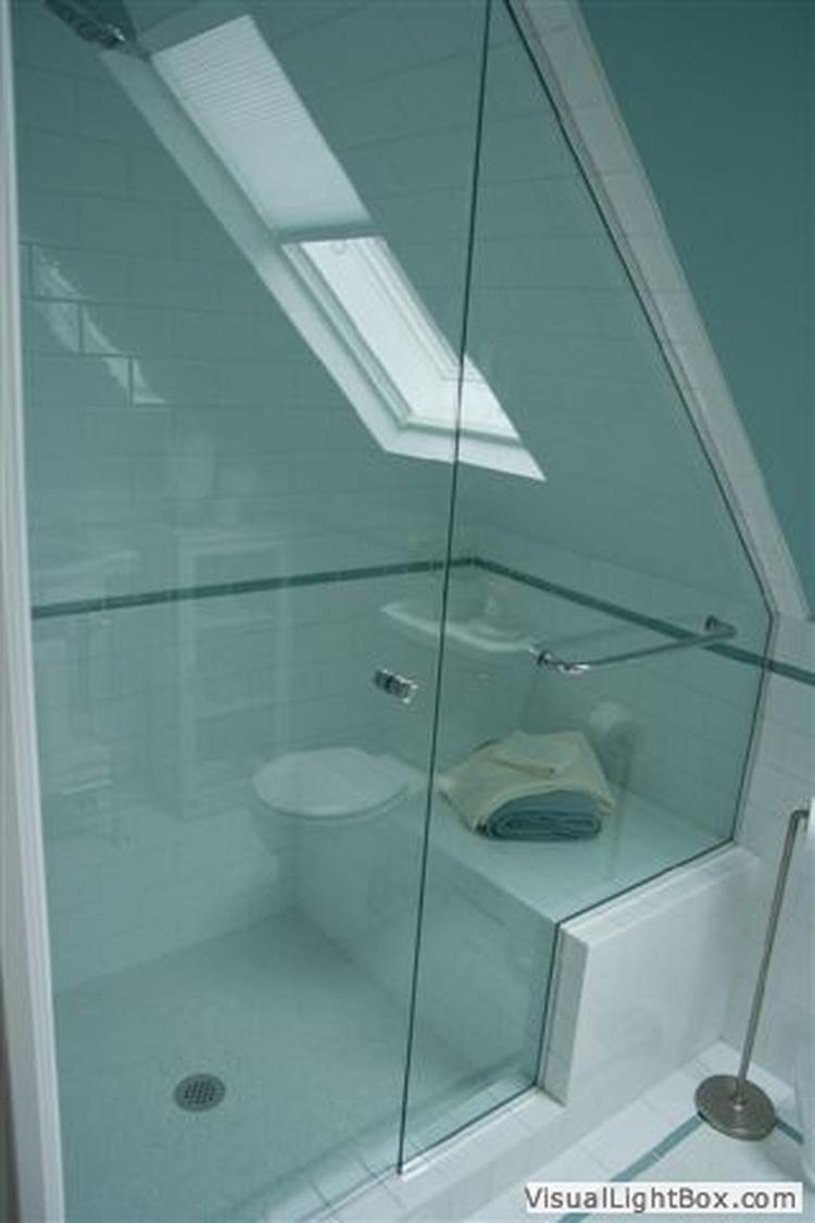 Zolder badkamer. foto geplaatst door moniekds op welke.nl
