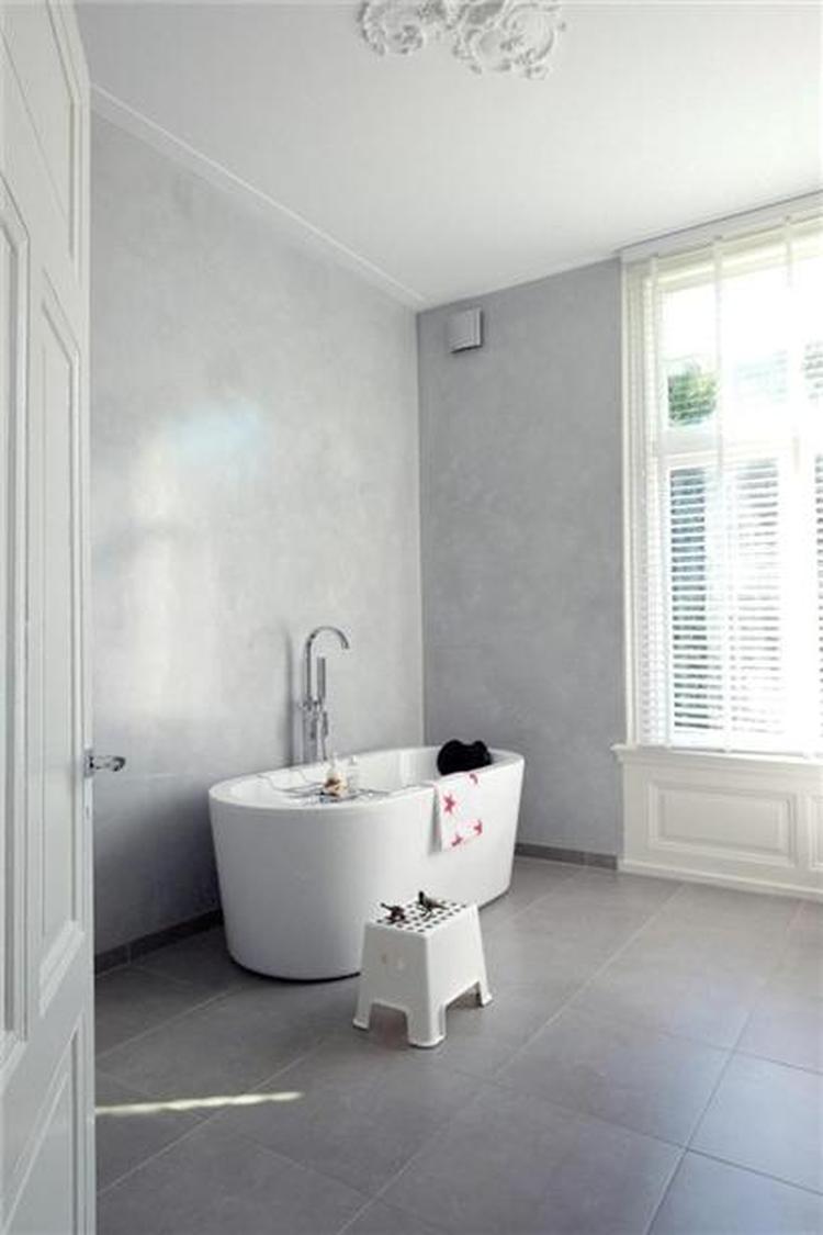 stucco marmorino badkamer. Foto geplaatst door cloeck op Welke.nl