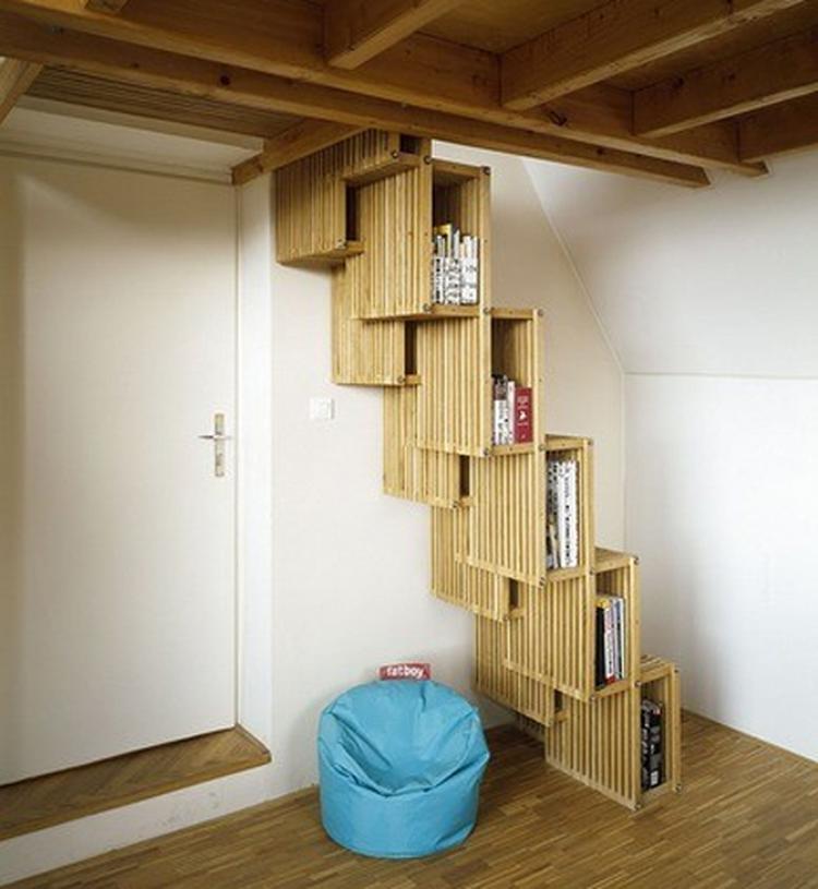 boekenkast trap. . Foto geplaatst door woefff op Welke.nl