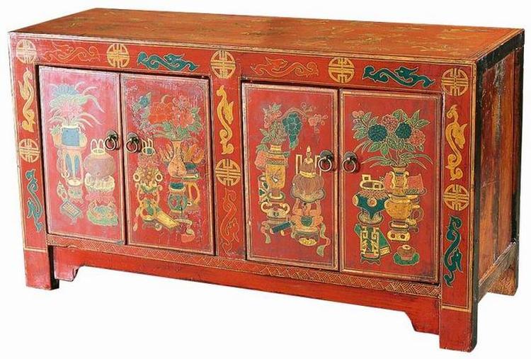 Tv Kast Antiek : Antiek dressoir excellent chinese antieke natuurlijke teak hout