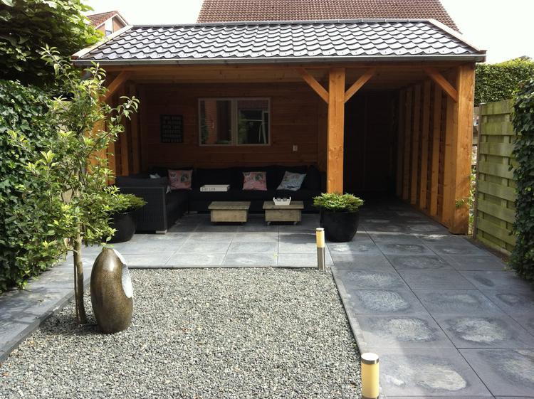 Afdak Tuin Maken : Bamboe overkapping maken perfect overkapping laten plaatsen met