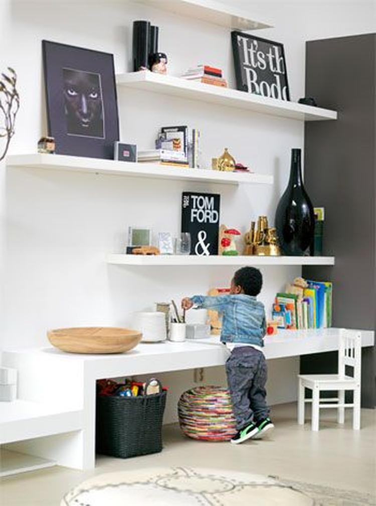 Leuk, zo\'n kinderhoekje in de woonkamer!!. Foto geplaatst door ...