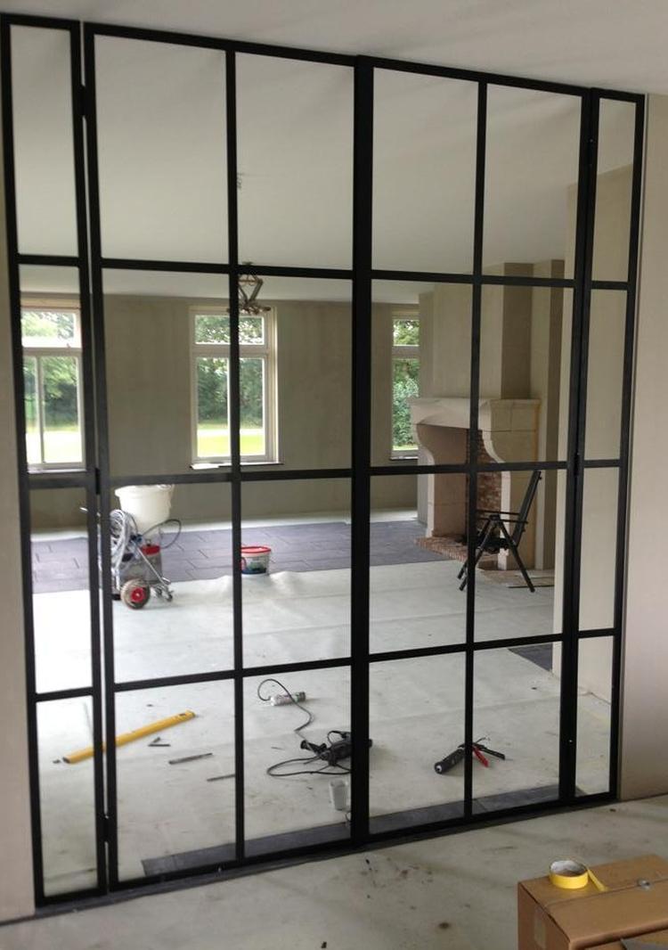 Geleverd: Stalen deuren van woonkamer naar keuken.. Foto geplaatst ...
