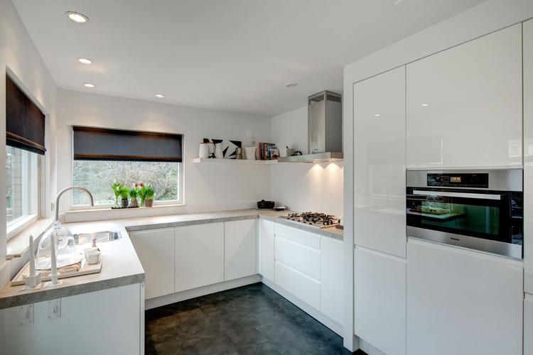 Hoogglans Wit Keuken : Witte hoogglans keuken