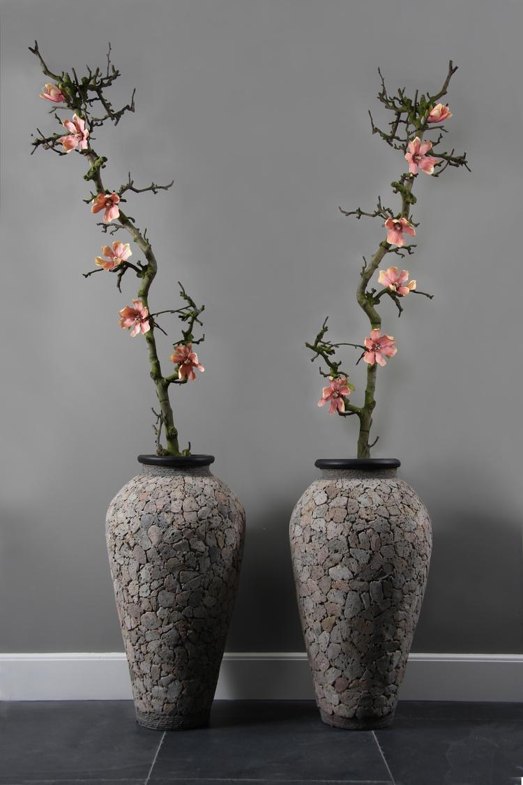 Decoratie vaas met takken amazing decoratieve takken in for Takken decoratie voor het raam