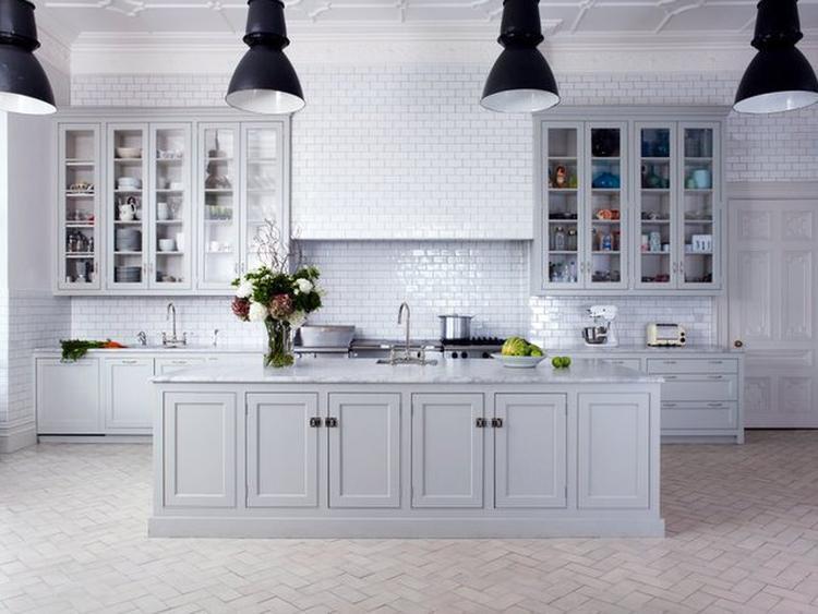 Industrieel landelijke mix in de keuken foto geplaatst door