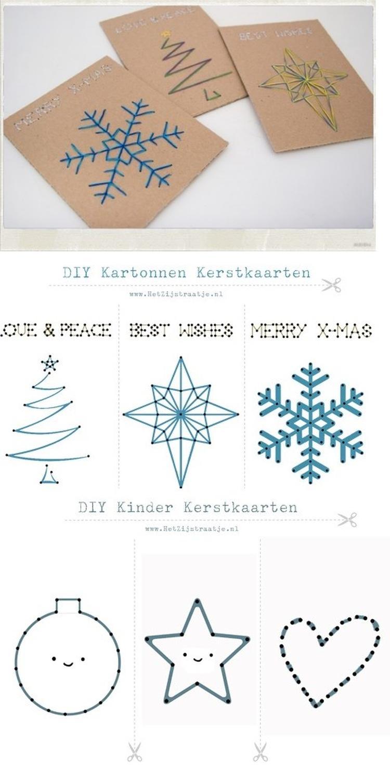 Kerstkaarten Met Sjabloonvoorbeelden Foto Geplaatst Door Ploink Op