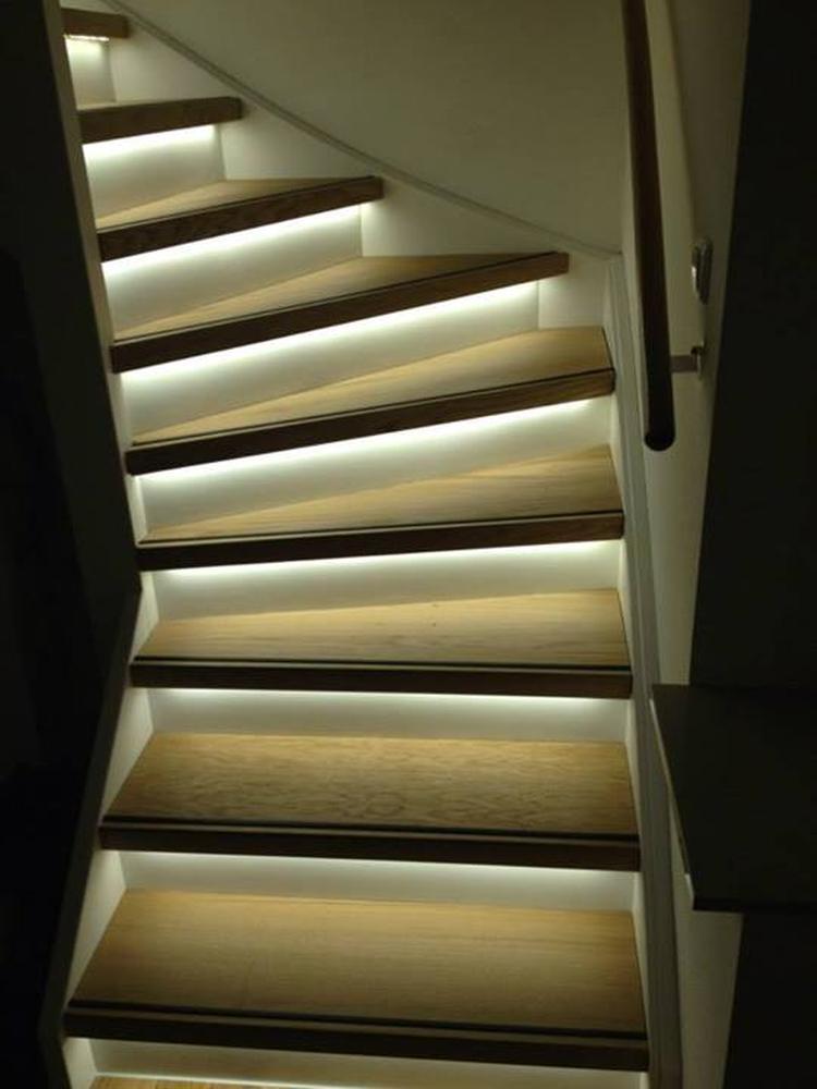 mooie trapverlichting led. Foto geplaatst door Jillv op Welke.nl