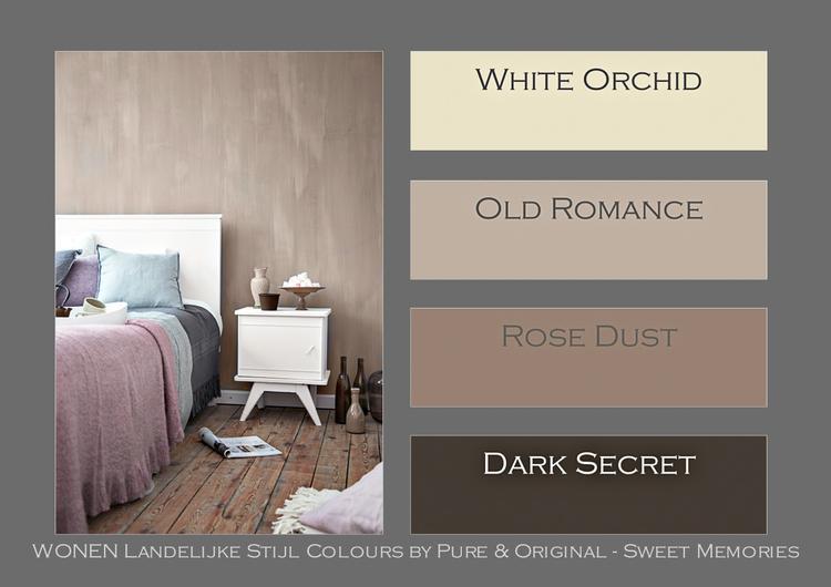 WONEN Landelijke Stijl colours by Pure & Original. Op elkaar ...