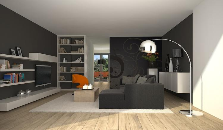 Awesome Indeling Woonkamer Contemporary - Moderne huis 2018 ...