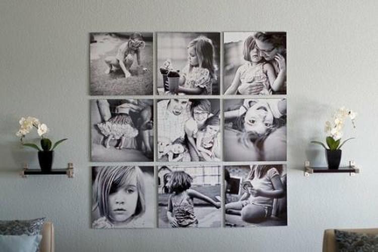 New Hoe leuk om jezelf gemaakte foto's als een collage aan de muur te #HE33