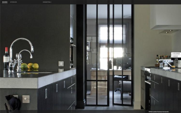 Smalle keukens stunning kies voor een indeling with smalle keukens awesome voor een kleine - Smalle keuken ...