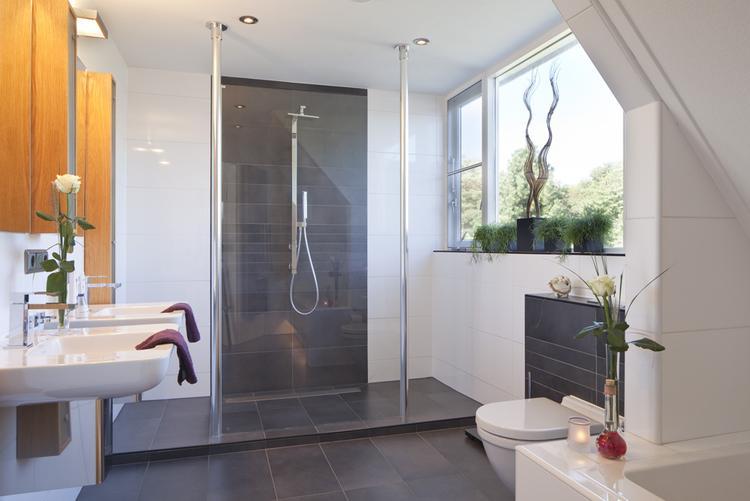Modern Badkamer. Zelf ontworpen! . Foto geplaatst door Anders Style ...