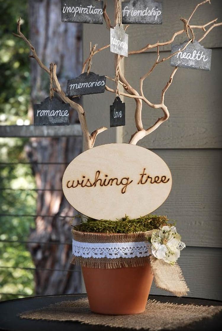 Wensboom Leuk Cadeau Voor Bruiloft Ziek Beste Vriendin