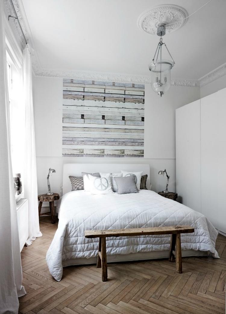 Super Een bankje achter je bed; praktisch en decoratief! . Foto YG-29