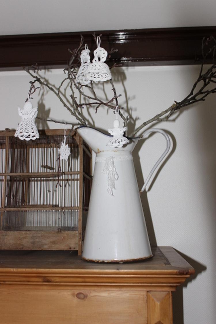 Gehaakte Engeltjes Voor In De Kerstboom Foto Geplaatst Door