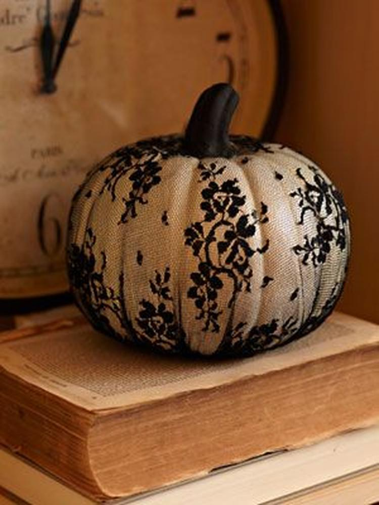 Halloween Figuurtjes Maken.Halloween Glam Pompoen Eenvoudig Zelf Maken Met Panty Foto