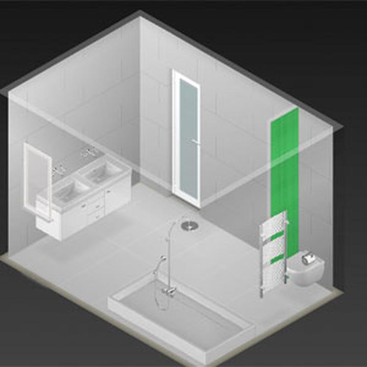 foto: ontwerp in 3 makkelijke stappen je nieuwe badkamer en bekijk, Badkamer