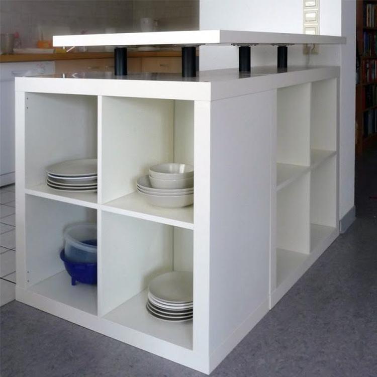 Ikea Houten Ladekastje.Keuken Eiland Van Ikea Kastjes Foto Geplaatst Door Suuuzann Op