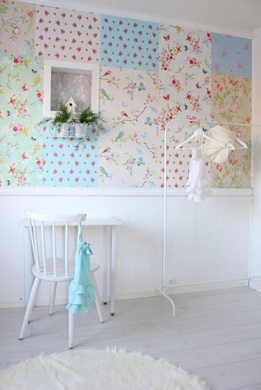 Iets Nieuws behang voor vrolijke meidenkamer. Foto geplaatst door clarice2911 #BA78
