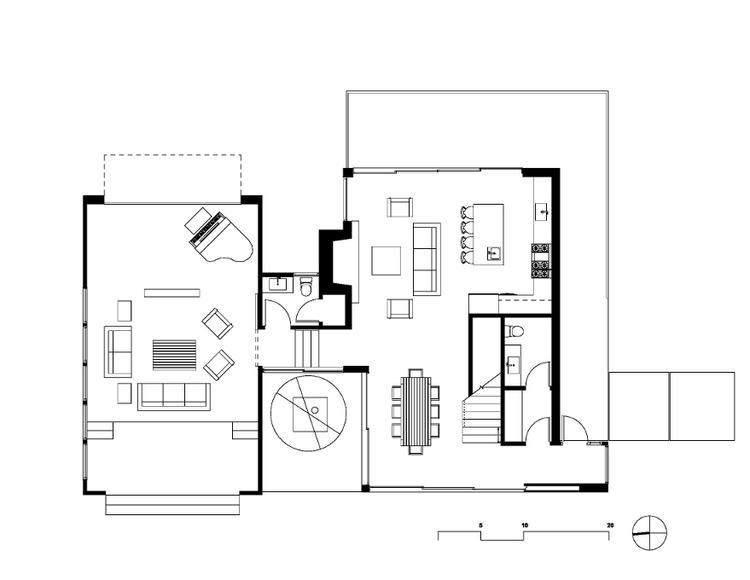 plattegrond van een woonkamer en keuken. Foto geplaatst door Buba ...