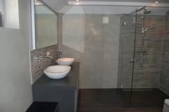Behang betonlook woonkamer geef je muur een betonlook voor een