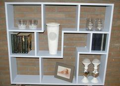 letterbak boekenkast wandkast verkrijgbaar in verschillende