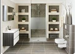 Badkamer wastafel plank eigen huis en tuin