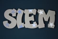 Coole Letters Babykamer : Piepschuim letters trendy en tijdloos voor in de kinderkamer