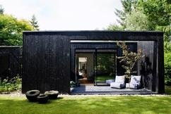 Stijl idee terras luxueus koffie villa houten sofa groot
