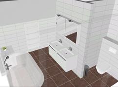 Bruine Vloertegels Badkamer.Mosa Mat Witte Tegels 45x15 Bruine Vloertegels Modern