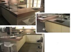 Bar In Keuken : Moderne tieleman keuken met geïntegreerde bar tafel kookeiland en