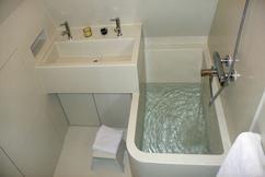 Polyester badkamer op slechts 3 m2. Foto geplaatst door femke026 op ...