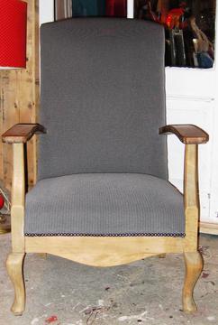 Fauteuil Met Bloemenstof.Collectie Hand Made Chairs Verzameld Door Mixedupensassebas Op