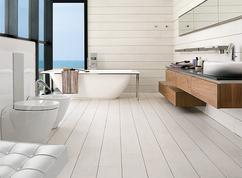 Badkamer houten vloer luxe hout tegel gamma gamma werkbladen ff