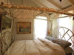 Bed gordijn slaapkamer gordijnen inspiratie echtgordijn
