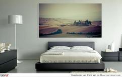 anders hang je even een groot schilderij in je slaapkamer